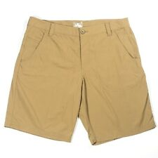 Under Armour Heat Gear Mens Shorts Size 38 Tan Khaki Outdoors Golf Athletic