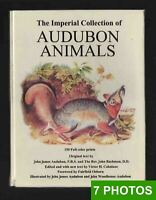 1967 Audubon Animals 150 prints; bright colors. The Imperial Collection XL book