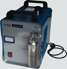 H160 75L Portable Oxygen Hydrogen Water Welder Flame Polisher Polishing Machine