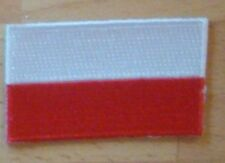 POLAND Country Flag Embroidered PATCH Badge