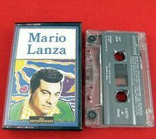 MARIO LANZA - The Entertainers -  CASSETTE TAPE