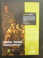 8/05 PUB HARRIS MILITARY COMMUNICATION AN-PRC-150 RADIO FALCON SPECIAL FORCES AD