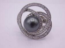 CEM Ring Silber 925 punziert & signiert Gr. 59