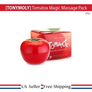 TONYMOLY Tomatox Magic Massage Pack 80g + FREE SAMPLE [US SELLER]