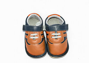 New Squeaky Shoes with Removable Squeaker, Wide Head (for Baby / Toddler / Kid)
