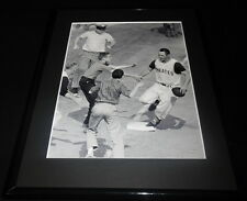 Bill Mazeroski 1960 World Series HR Pirates Framed 11x14 Photo Display