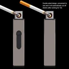 USB Electronic Rechargeable Flameless Cigar Cigarette Lighter Windproof Gifts