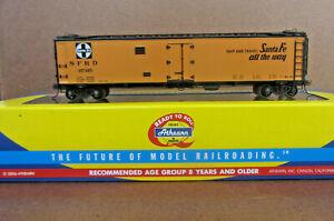 Ho Train Athearn ATSF Super Chief 50' Ice Bunker Reefer - Santa Fe - IOB