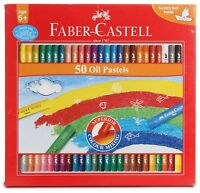 Faber-castell Oil Pastels Set of 50 Free shipping worldwide
