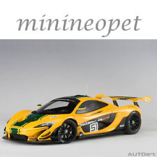 AUTOart 81544 MCLAREN P1 GTR #51 GENEVA MOTOR SHOW 2015 1/18 MODEL CAR YELLOW