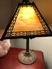 Antique Miller Slag lamp (1844-1924) beautifully detailed