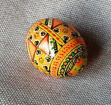 "Holz Ostereier handgemachte ukrainische Pysanky Pysanka Easter Eggs 2,5"""