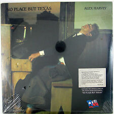 ALEX HARVEY No Place But Texas LP 1986 COUNTRY (STILL SEALED/UNPLAYED)