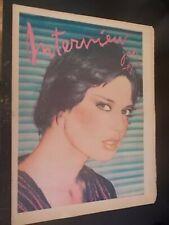 Isabella Rossellini - Interview Magazine 1978