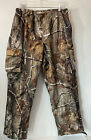 Mens Field & Stream camouflage hunting pants  - size Large Elastic Waist