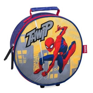 Disney Store SpiderMan Thwip Isolated Lunch Box Bag Marvel School Kids