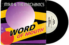 """MIKE & THE MECHANICS - WORD OF MOUTH - 7"""" 45 VINYL RECORD PIC SLV 1991"""