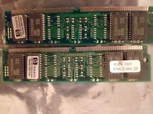 32MB EDO Memory 4 x 8MB HP-1818-6172 SIMMS
