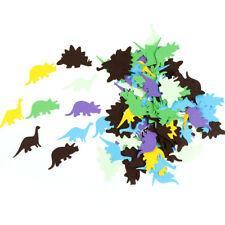 100x Multicolor coriandoli di carta Confetti Wedding Dinosaur Birthday Party  LQ