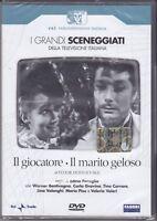 2 Dvd Box Sceneggiati Rai «IL GIOCATORE ~ IL MARITO GELOSO» completa 1965