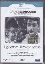 2 Dvd Caja Serie del drama Rai «el GIOCATORE ~ EL MARIDO celoso» completa 1965