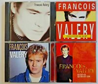 FRANÇOIS VALERY ♦ lot 4 x CD Albums ♦ inclus BEST OF, MARIE, AIMONS-NOUS VIVANTS