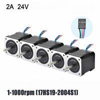 Nema 17 Schrittmotor 59Ncm 2A 48mm 4-wire 1m Cable W/ Connector 3D Drucker Neu
