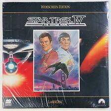 Star Trek IV 4 The Voyage Home Laserdisc LV12954-7WS NEW SEALED