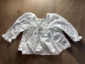 Baby Gap Girls White Blouse 3-6 Months