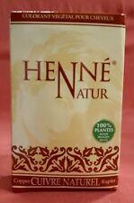 90 g Henna pulver Natur Kupfer Natürliche Haarfarbe Haarpflege Cuivre Naturel