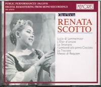 Renata Scotto : Great Voices - CD