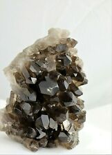 47) Large Smoky Quartz Crystal Point Cluster - Brazil Great Gift Home Decor