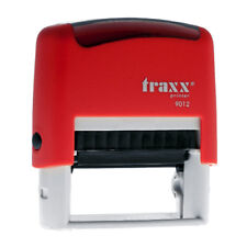 TRAXX Personalised Self-inking Rubber Stamp