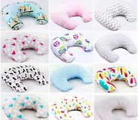 BREAST FEEDING PILLOW WITH ZIPPER COVER MULTIPURPOSE NURSING MATERNITY SUPPORT