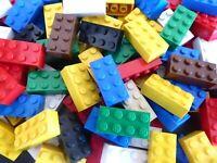 LEGO 50 BASIC STEINE 2x4 hoch Bausteine Grundbausteine 3001 Kg Konvolut  ANGEBOT