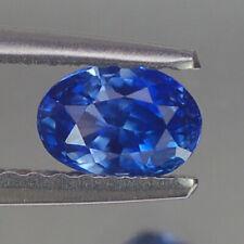 0.63CT STUNNING VVS UNHEATED OVAL BLUE CEYLON SAPPHIRE NATURAL