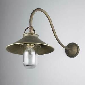 Applique Murale Maison Lampe Laiton Antique Bronze Premium Maritime Main