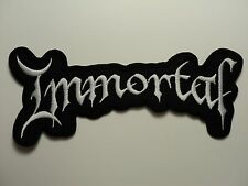 IMMORTAL    EMBROIDERED PATCH