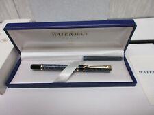 Waterman Paris Writing Instrument Model 18276-3 Laureat M-Blue Cartridge F/Pen
