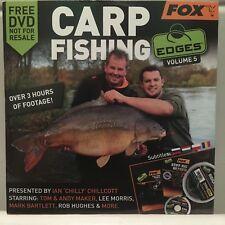 Fox Carp Fishing Edges Volume 5 DVD - Tips Advice Hooks Rigs Hooklink Line Zig