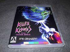 Killer Klowns From Outer Space Blu-Ray Arrow w/ Booklet Region B Horror UK