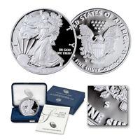 2019-S Proof $1 American Silver Eagle Coin (w/Box+COA)
