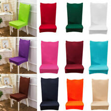 Elastic Stretch Wedding Chair Cover Christmas Party Decor Dining Home Room Seat