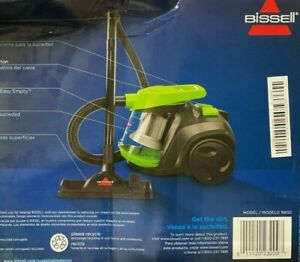 Bissell Zing Canister, 16652 Vacuum, Green Bagless