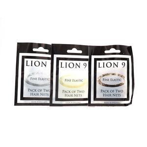 Hair Nets Ballet /Soft Elastic Beard Dance (2 x 2 pack) All Shades, Lion Brand