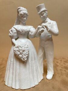 Dept. 56 Bride and Groom Wedding Cake Topper