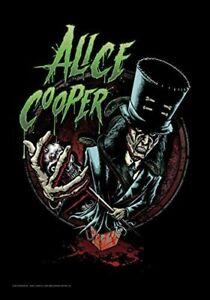 Alice Cooper Haut Chapeau Large Textile Drapeau 1100mm x 750mm (Hr )