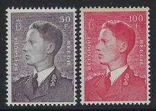 Belgium 1952 King Baudouin set Sc# 446-76 NH