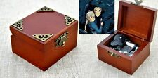 Vintage Classic Square Wind Up Music Box : Howl's Moving Castle Soundtrack