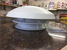 CARAVAN MOTORHOME MUSHROOM ROOF FREE FLOW OF AIR VENT & 80 MM CONNECTOR 900035